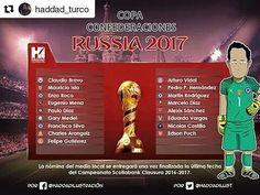 """La nómina de los """"extranjeros"""" de la Roja para la Copa Confederaciones (por @haddad_turco)"""