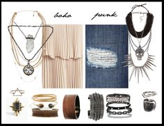 Fall Fashion Trends 2013: Boho and Punk - UNLABELLED