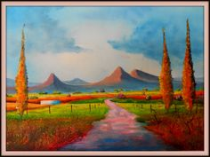Cape Fields using lighter colours in an attempt to keep clean colours. painted on 29/8/2013. ( Oils) Size 410 mm x 600 mm. For Sale $ 35 Light Colors, Colours, Lighter, Keep It Cleaner, Fields, Cape, Paintings, Cleaning, Mantle