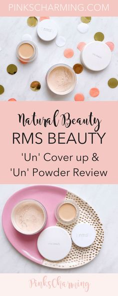 RMS Beauty 'Un' Cover-up and 'Un' Powder Review. With cult status among natural beauty products circles, does this concealer and foundation combination live up to its reputation? Click to find out my experience with this organic makeup and see my tutorial. #concealer #foundation #makeup #organic #naturalbeauty