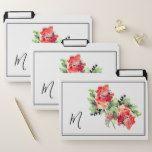 Romantic Vintage Watercolor Flowers | Monogram File Folder #weddinginspiration #wedding #weddinginvitions #weddingideas #bride