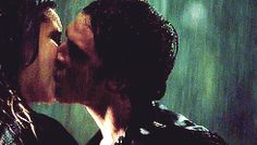 I want to be kissed in the rain like that! I know these are only characters from a fictional TV programme, but their love is passionate and true and something I want to experience without any regrets
