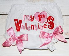 My First Valentines Bloomers