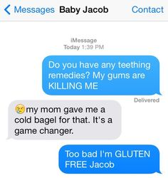The Dilemma: | 15 Texts Babies Wish They Could Send