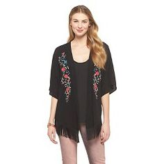 Embroidered Kimono Jacket Cream S/M - Get substantial discounts up to 50% Off at Target with Coupons and Promo Codes.