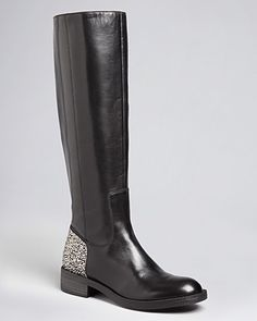 Enzo Angiolini Tall Dress Boots - Selestino Glitz Heel | Bloomingdale's