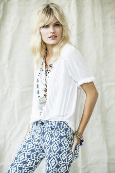 THE DENIM EDIT · Navajo Print | We Love | Style | Fashion | Rapsodia.com