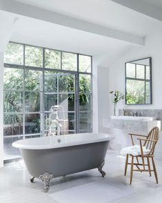 Is your style classic? Is your passion project restoring your bathroom to its previous glory?! This Cheshire bath is a timeless classic that may inspire you, a deep Victorian double ended roll top bath of generous proportions. Now 30% OFF in our June SALE.  Shop the SALE in-store or online! Victoria And Albert Baths, Bath Uk, Roll Top Bath, Big Bathrooms, Luxury Bathrooms, Victorian Bathroom, Bathroom Renovations, Bathroom Ideas, Bathroom Designs