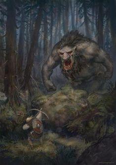 Fantasy Magic, High Fantasy, Fantasy Rpg, Medieval Fantasy, Fantasy Artwork, Fantasy World, Fantasy Forest, Fantasy Monster, Monster Art