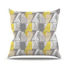 "Gill Eggleston ""Linford"" Throw Pillow | KESS InHouse"
