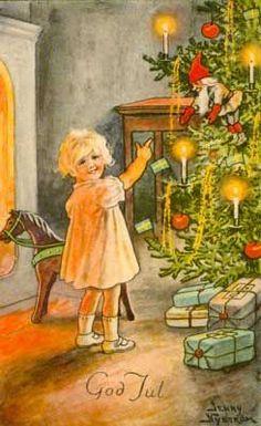 God Jul, by artist,Jenny Nyström