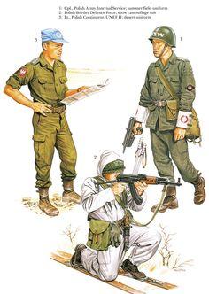 Polish Army Units at Cold War Era