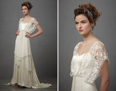 Wedding Gowns Inspired by Downton Abbey - Catherine Deane - Lita (by BHLDN)