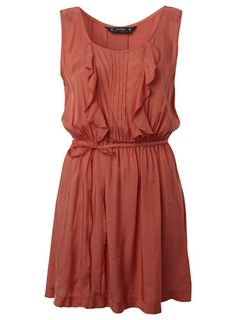 sweet coral dress!