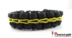 A tutorial on the chain stitched paracord bracelet.