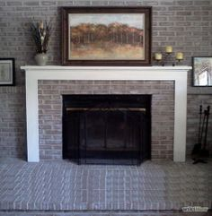 How To Clean Soot From Fireplace Brick Use Scrubbing