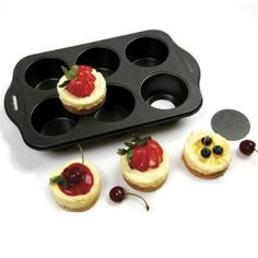 Amazon.com: Norpro Nonstick Small Cheesecake Pan: Individual Serving Bakeware Products: Kitchen & Dining
