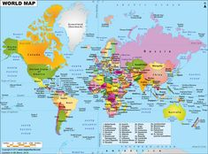 World Map - Free Large Images