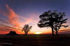 Sunset in Kansas   Dec 28, 2011