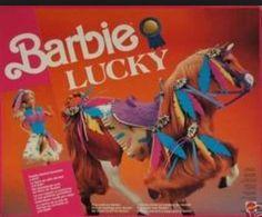 BARBIE CAVALLO LUCKY DA COLLEZIONE ANNO 1991