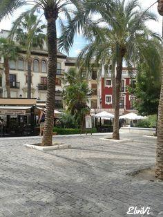 Plaza de la Romanilla.Granada.Mayo 2015.