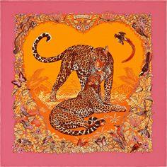 Jungle Love - Rose Pink and Orange