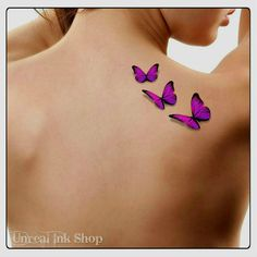 Temporary Tattoo 3D Butterflies Fake Tattoo Flying Butterfly Thin... ($7.03) ❤ liked on Polyvore featuring accessories