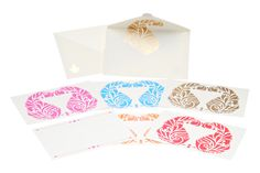 Posh Paisley notecards by Ananyacards.com - perfect to say thank you!