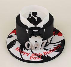 007, James Bond cake