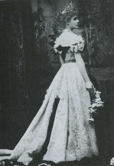 The Infanta Eulalia of Spain, ca 1897  Scanned fromVictorian and Edwardian Fashionby Alison Gernsheim.
