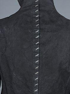 Isaac Sellam stapled calfskin jacket | REFLECTONLINE.COM