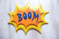 BOOOM..! Batman comic art plaques...