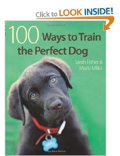 100 Ways to Train the Perfect Dog:  Sarah Fisher, Marie Miller | Probably my favourite training book.  Can't recommend it highly enough.
