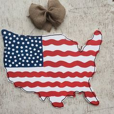 USA Map Flag Wood Door Hanger// 4th of July, America, Patriotic, Military by FortSturgeon on Etsy https://www.etsy.com/listing/233706649/usa-map-flag-wood-door-hanger-4th-of