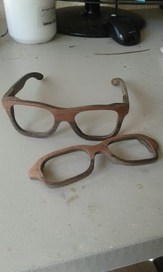 Our new style called the zing zang in sapele and wedge wood