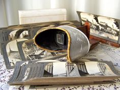 Antique Stereoscope Card Viewer 1901 and 42 View by cynthiasattic, $200.00