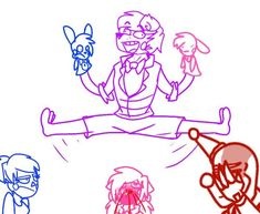 F. Freddy\'s stretching is better then Ballora\'s by Mrs-Spring45.devi... on @DeviantArt