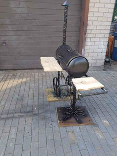 Barbecue Grill, Smokers, Grills, Outdoor Decor, Home Decor, Decoration Home, Room Decor, Interior Design, Home Interiors