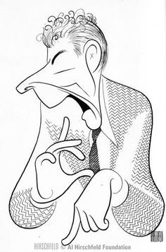 Danny Kaye by Hirschfeld