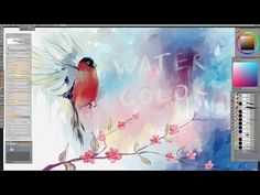 (1) Using Watercolor Brushes in Photoshop - YouTube