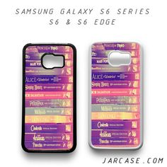 Disney Books Phone case for samsung galaxy S6 & S6 EDGE
