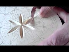 172 My Chip Carving - 8 inch flat plate rosette, basswood plates and chip carving supplies at www.MyChipCarving.com, 866-444-6996