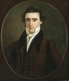 Portrait of a Man - William Matthew Prior, American, 1806 – 1873 -   Date: 1829,  Oil on canvas, Dimensions: 26 3/8 x 22 1/16 inches (67 x 56 cm)