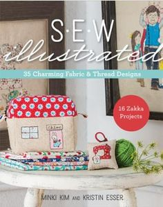 SEW Illustrated Book by Minki Kim and Kristin Esser for C&T Publishing