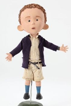 James stop-motion puppet from James & the Giant Peach