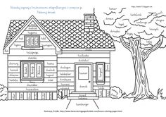 Modern House Coloring Pages Free - Coloring For Kids 2019 House Colouring Pictures, House Colouring Pages, Pattern Coloring Pages, Coloring Pages To Print, Coloring Book Pages, Printable Coloring Pages, Coloring Pages For Kids, Coloring Sheets, Kids Coloring