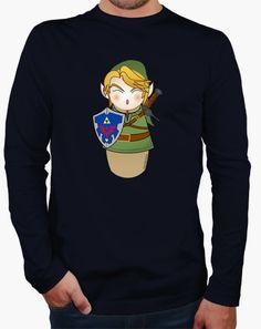 Camiseta manga larga Kokeshi Zelda