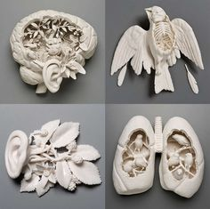 Morbid Plaster Creations Plaster Art - Everything About Charcoal Drawing and Sculpture Plaster Sculpture, Plaster Art, Sculptures Céramiques, Art Sculpture, Sculpture Projects, Art Projects, Bel Art, Creation Art, Arte Popular