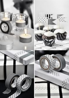 washi tape everywhere. BODIE and FOU★ Le Blog: Inspiring Interior Design blog by two French sisters