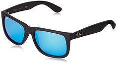 RAY BAN Men 4165 Sunglasses, black rubber Discount from Β£101,74 To Β£64,4